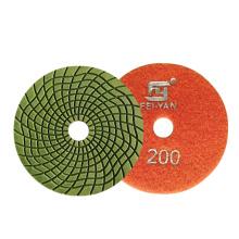 Flexible Resin Polishing pads for stone granite marble angle grinder dry wet FEIYAN Diamond Tools