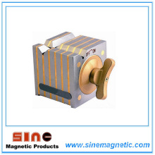 Base de bloques magnéticos / Caja de hierro fundido Test-Bed