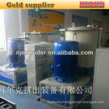 500kg per hour polymer plastic mixing machine for plastic extruder