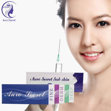 Hyaluronate Skin Care Cosmetic Filler Injectables For Face