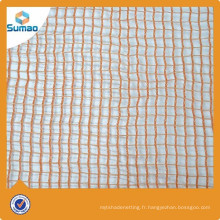 Filet de sécurité de garde-corps d'escalier tricoté par chaîne de haute qualité pour la construction
