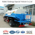 Camión de riego diesel del agua de 5cbm Foton Forland Euro 3 con el rociador lateral