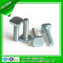 Harden Stahl M8 T Form Custom Spezialschraube für Maschinen