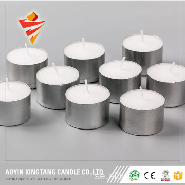 Dripless Topprankad Vit Tealight Candle