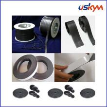 Rolo magnético flexível com adesivo