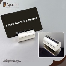 High Quality Industrial Factory for Poster Display Stand Metal Stainless Steel Card Holder export to Comoros Wholesale