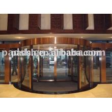 Porte tournante automatique de luxe à 2 ailes