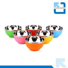 Talheres De Alta Qualidade Aço Inoxidável Coreano Bowl Colorido