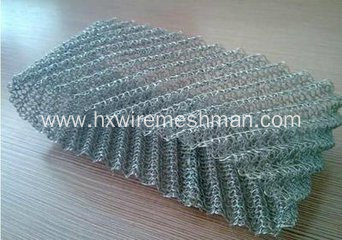 Stainless Steel Knited Mesh for Exhaust and Silencer