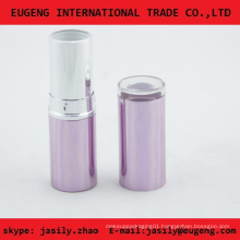 Fashion round pink no label lipstick case