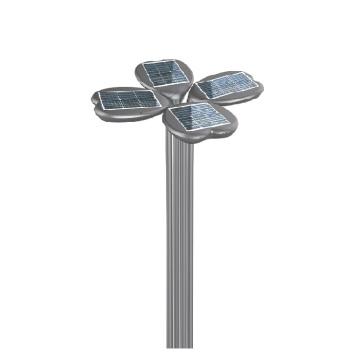 12v 20W IP66 Todo en uno Lámpara de jardín al aire libre llevada solar