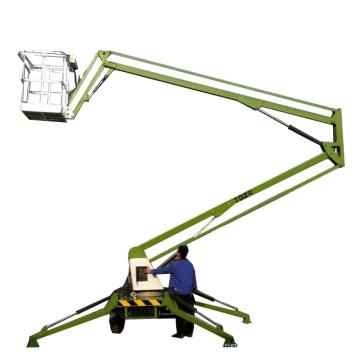 Qualidade máxima!! O reboque rebocador articulado do elevador do crescimento montou o elevador do homem da máquina desbastadora da cereja para venda