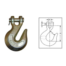 Crochet de crochet de chape d'acier au carbone galvanisé par IMMERSION chaude (H330)