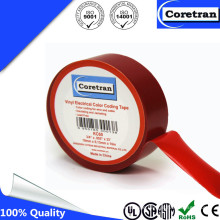Pressure Sensitive PVC Color Coding Vinyl Insulation Tape