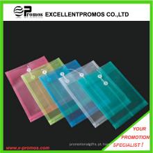 Promotional PP Tie fechar arquivo de documentos pasta saco (EP-F9103)