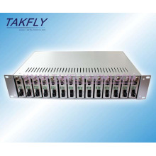 Convertidor de medios de fibra RS485 / 422/232 de 20km 1310 / 1550nm monomodo