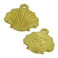 Gold Conch Metall-Reißverschluss-Puller