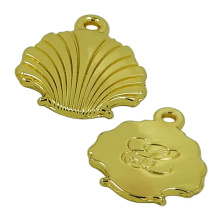 Gold Conch Metal Zipper Puller