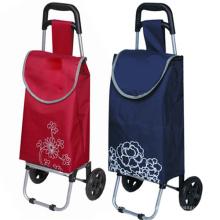 Chariots de chariot à main de supermarché de prix d'usine pour promotionnel (SP-516)