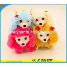 Hot Item Charming Design High Quality Cute Plush Electric Walking Barking Spot Puppies with Long Ear