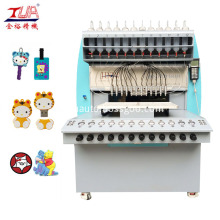 Soft PVC Patches Dripping Machine for Clothes