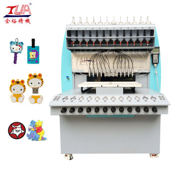Machine de distribution automatique de PVC en plastique de 12 couleurs