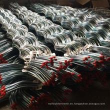 Cajón de alambre de soporte / malla de tomate / Espiral de alambre