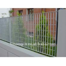 Clôture en grille en acier galvanisé