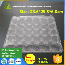 30 Holes Plastic Eggs Package Tray
