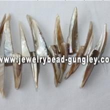 irregular shape freshwater shell loose beads