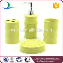 Light green ceramic bathroom home decor accessories