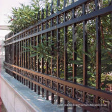 CE TUV Certification ISO 9001Wrought Iron Ornamental Fence with Spear Points (20 years Factory)ISO 9001