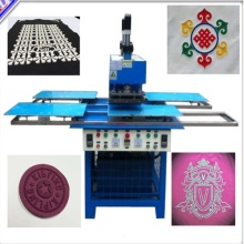 ODM for Offer Semi Automatic Embossing Machine, Clothes Labels Embossed Equipment, Label Embossing Equipment, 3D Labels Embossing Machine From China Manufacturer Silicone logo moulding machine onto clothes supply to Spain Exporter