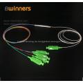 1X4 Stahlrohr Pon Plc Fiber Optic Splitter