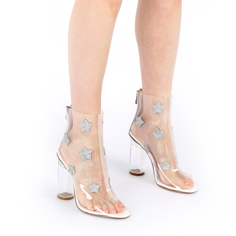 2017 New PVC embroidered women sandals
