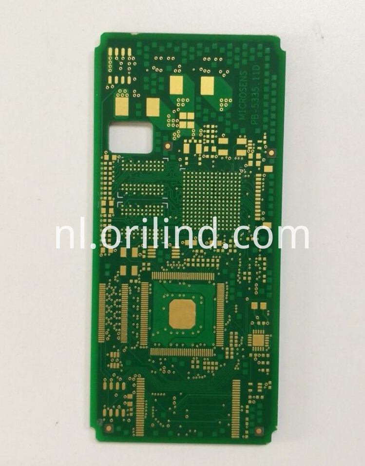 Mechanical blind hole PCB