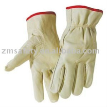cowgrain safety leather driver glove