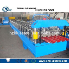 IBR And Corrugated Metal Roof Sheet Roll Forming Machine, Roofing Sheet Making Machine For Africa Market