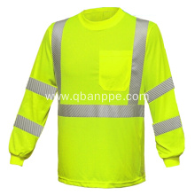 high visibility long sleeve warning shirt