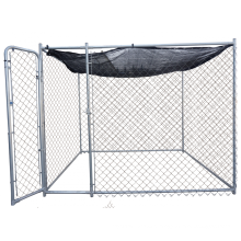 DIY Chainlink Dog Kennel