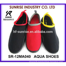 SR-12MA039 Popular Men aqua shoes water shoes surfing shoes water walking shoe