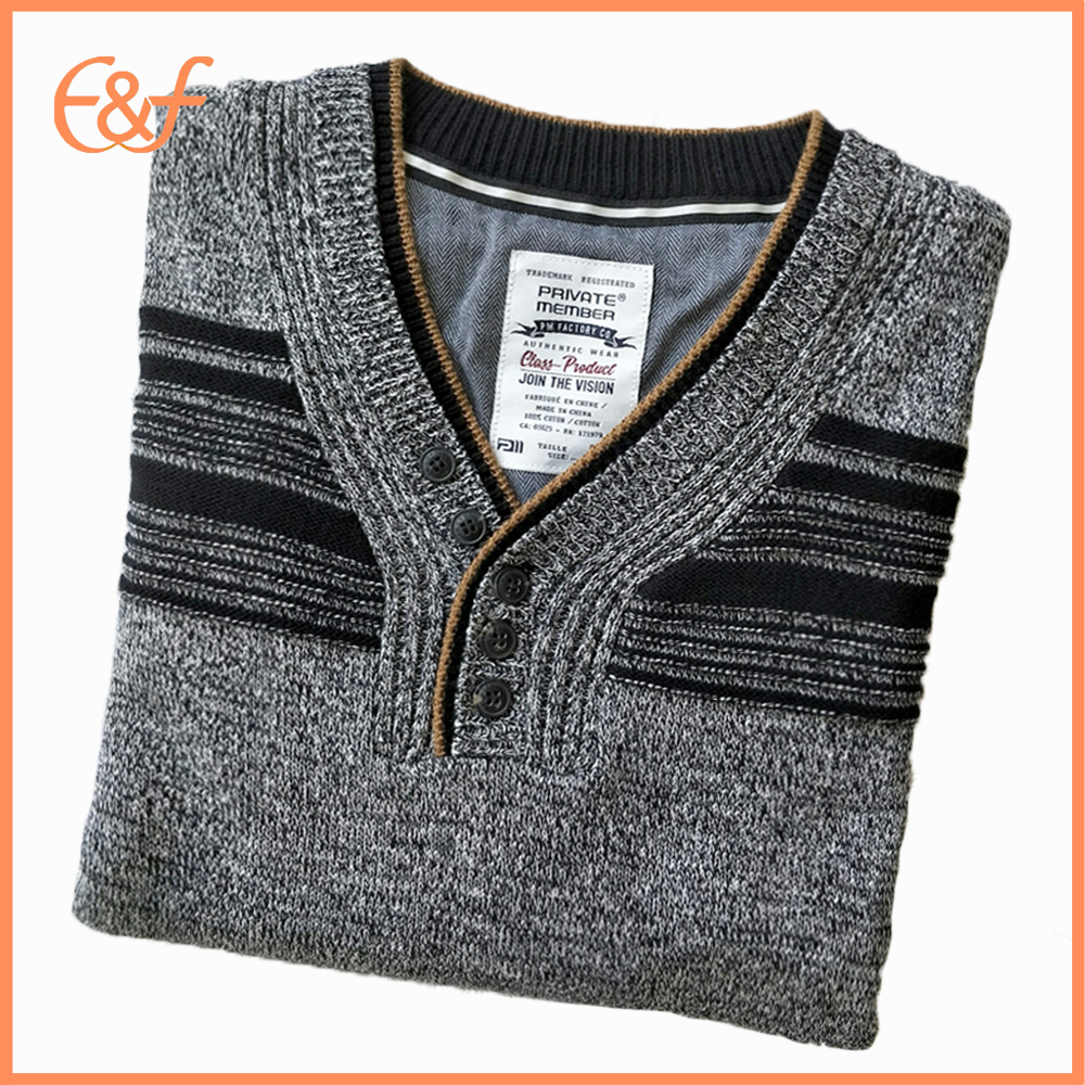V Neck Sweater for Men