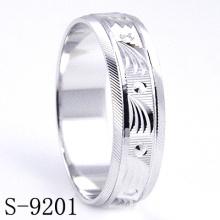 Joyería del anillo de compromiso / boda de la plata esterlina de la manera 925 (S-9201)