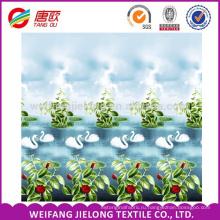 100% полиэстер ткань цветы печатных постельных принадлежностей 230DBedsheet с opp Упаковка