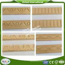 Wooden moulding for furniture/wooden carved moulding