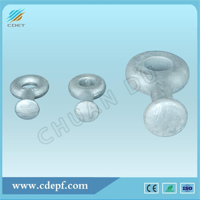 Galvanized Steel Eye Ball