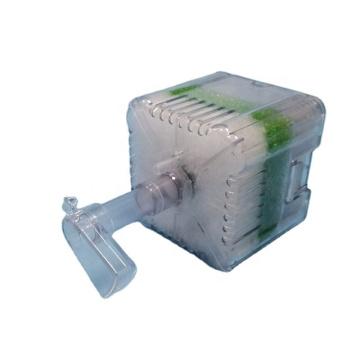 Супер биохимический губчатый гравийный фильтр XY 2011 с искусственной кожей и натуральным камнем
