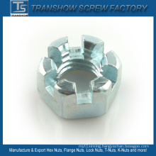 DIN935 DIN937 Slotted Hex Nuts