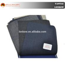 Traje de estambre de lana merino de la famosa marca italiana Angelico 100 en servicio a medida