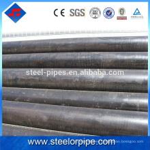 Precio barato para exportar tubería de acero al carbono revestida de epoxi